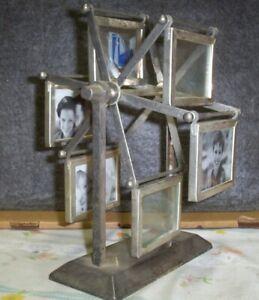 Vintage-Ferris-Wheel-Picture-Frame-or-Business-Card-Holder