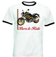 DUCATI Monster 600 Inspirado Camiseta con gráfico-Nuevo Increíble S-M-L-XL - XXL