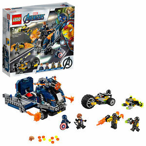 76143-LEGO-Marvel-Super-heros-Avengers-camion-Take-Down-477-PIECES-7-Ans