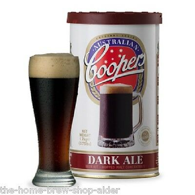 Coopers Dark Ale Beer Kit - Home Brew - Beer Making - Homebrewing