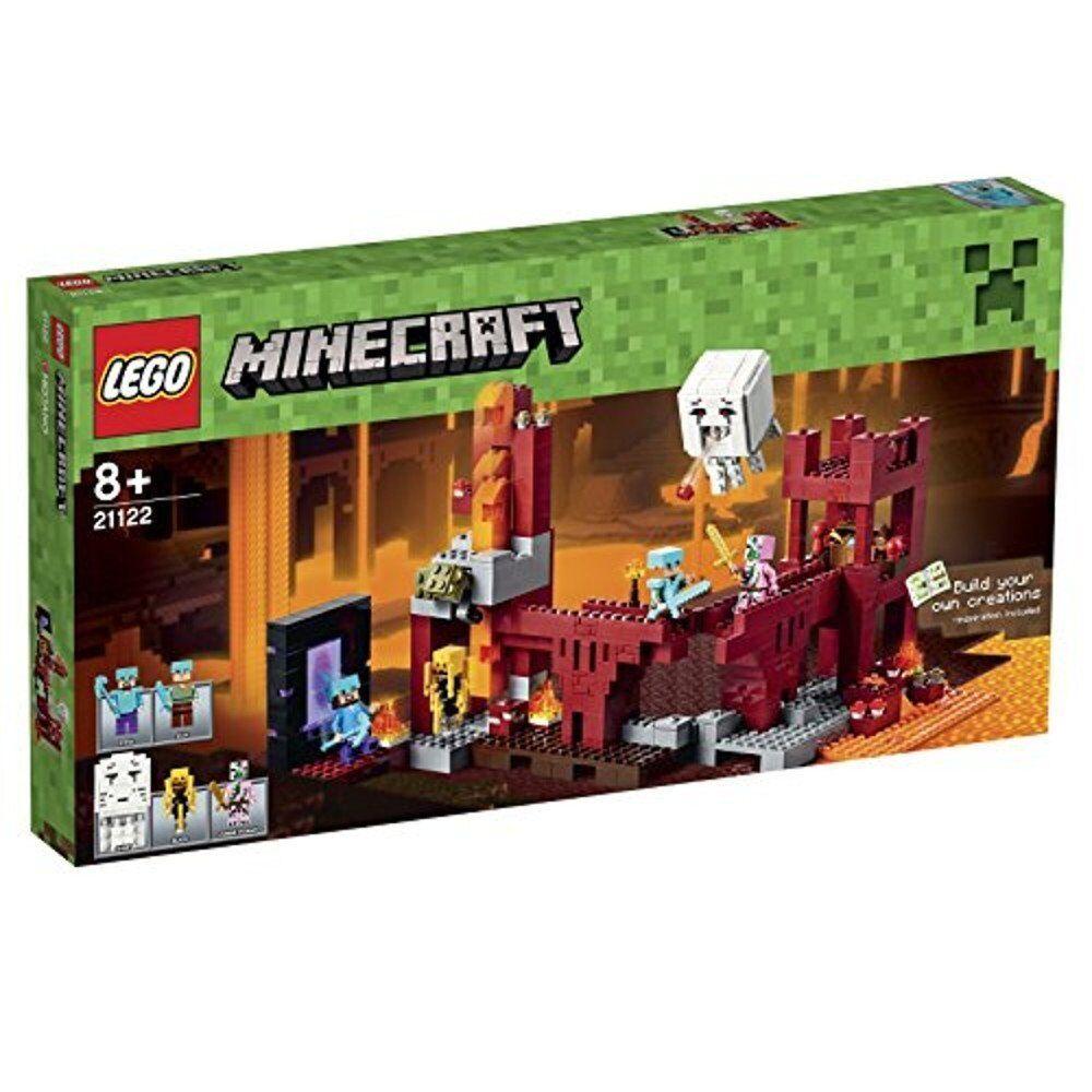 LEGO ® 21122 Minecraft netherfestung logeant forteresse Nouveau neuf  dans sa boîte nouveau SEALED  dégagement