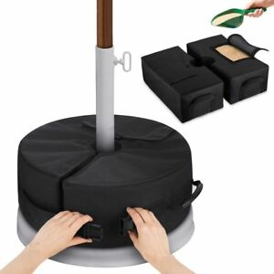 Waterproof-Weight-Sand-Bag-Foldable-Outdoor-Patio-Umbrella-Tent-Base-Stand-99lb