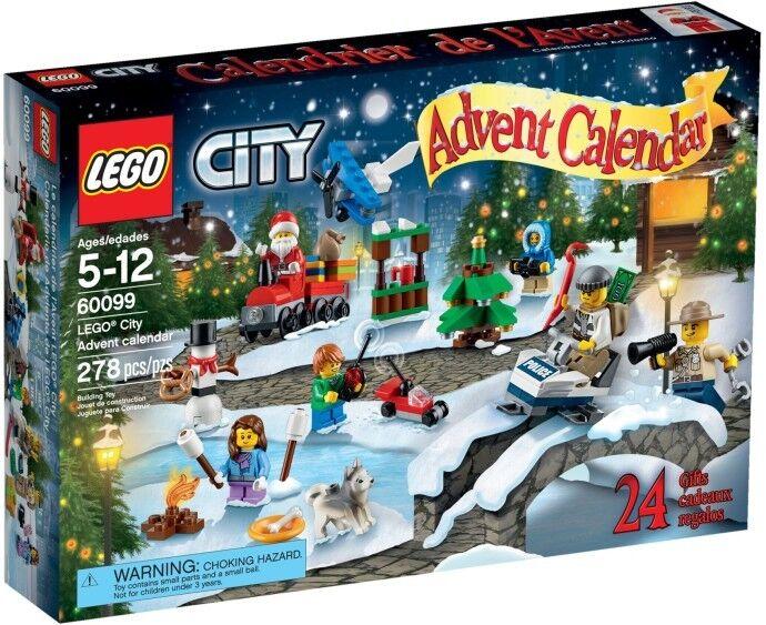 LEGO città (60099) Calendario Avvento (& Nuovo Di  Zecca Sigillato in fabbrica) in pensione 2015 Set  grande sconto