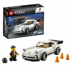 LEGO-75895-Speed-Champions-1974-Porsche-911-Turbo-3-0-Forza-Horizon-4-Model-Car