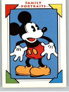 1991 Impel Mickey Mouse Family Portrait #106