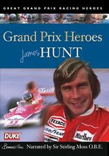 James Hunt - Grand Prix Heroes (New DVD) Narrated by Sir Stirling Moss