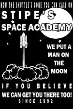 Inspired by REM T-Shirt Man On The Moon Stipe/'s Academy T-Shirt Original Design