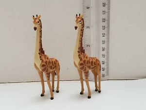 Disney-The-Lion-King-Giraffe-3-034-Lose-PVC-Figure-Figurine-Collectible-Lot-of-2