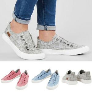 Women-039-s-Solid-Color-Flat-Espadrille-Shoes-Lace-up-Pumps-Casual-Shoes-Size-6-9