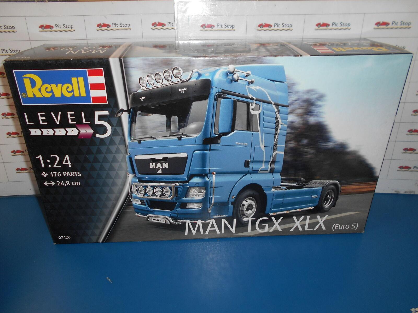 Rev07426, suministrado por el conjunto de montajes de reverell Man GTX xlx - 1  24