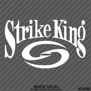 Strike-King-Fishing-Lures-Outdoor-Sports-Vinyl-Decal-Sticker-Choose-Color-Size