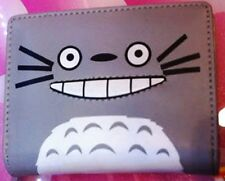 US Seller - Totoro Anime Happy Face Wallet. Zipper Coin Bag #K-lon328