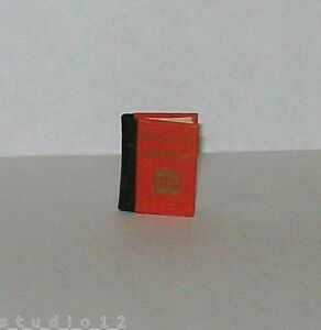 Estate-rare-Miniature-Book-Poetry-By-William-Blake-Borrowers-Press-1978-Signed