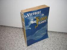 1949.victoire de Judas Iscariote / Georg Yanik.Bon ex.non coupé