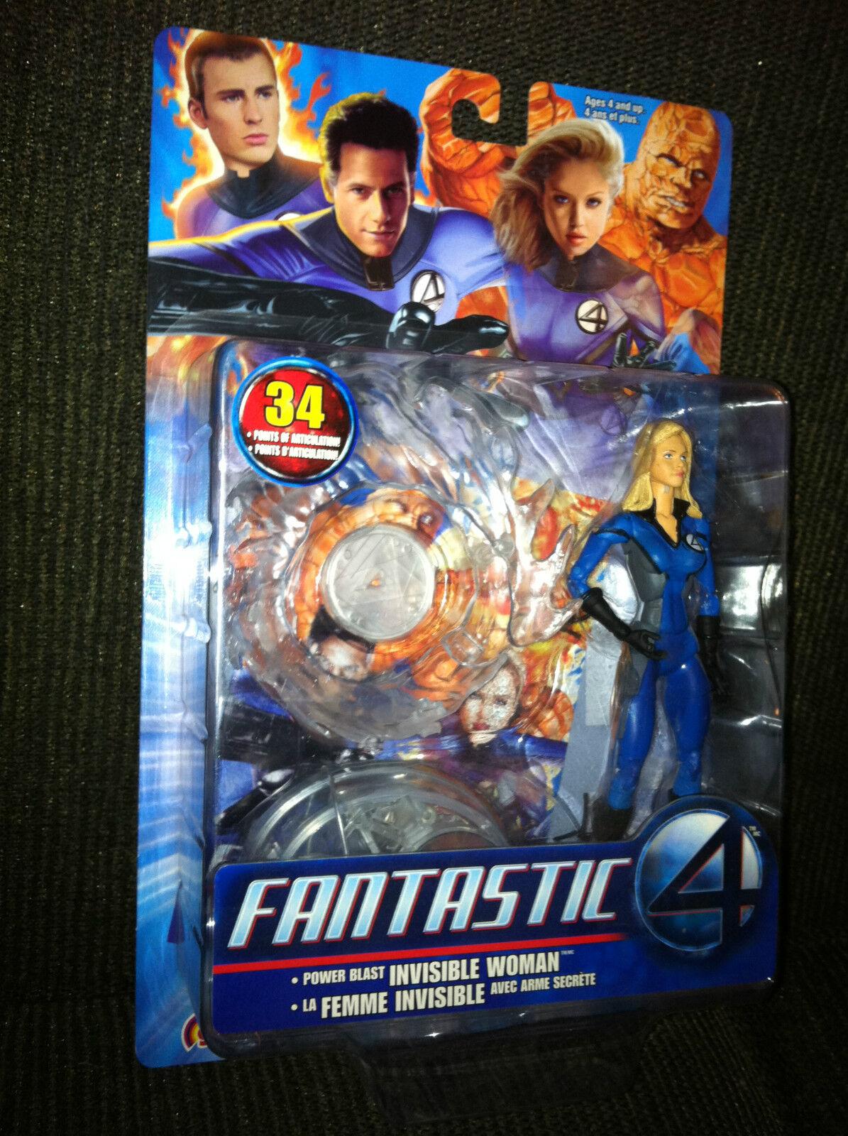 Fantastic 4 Marvel INVISIBLE WOMAN Jessica Alba  Solid  Variant Figure - Legends