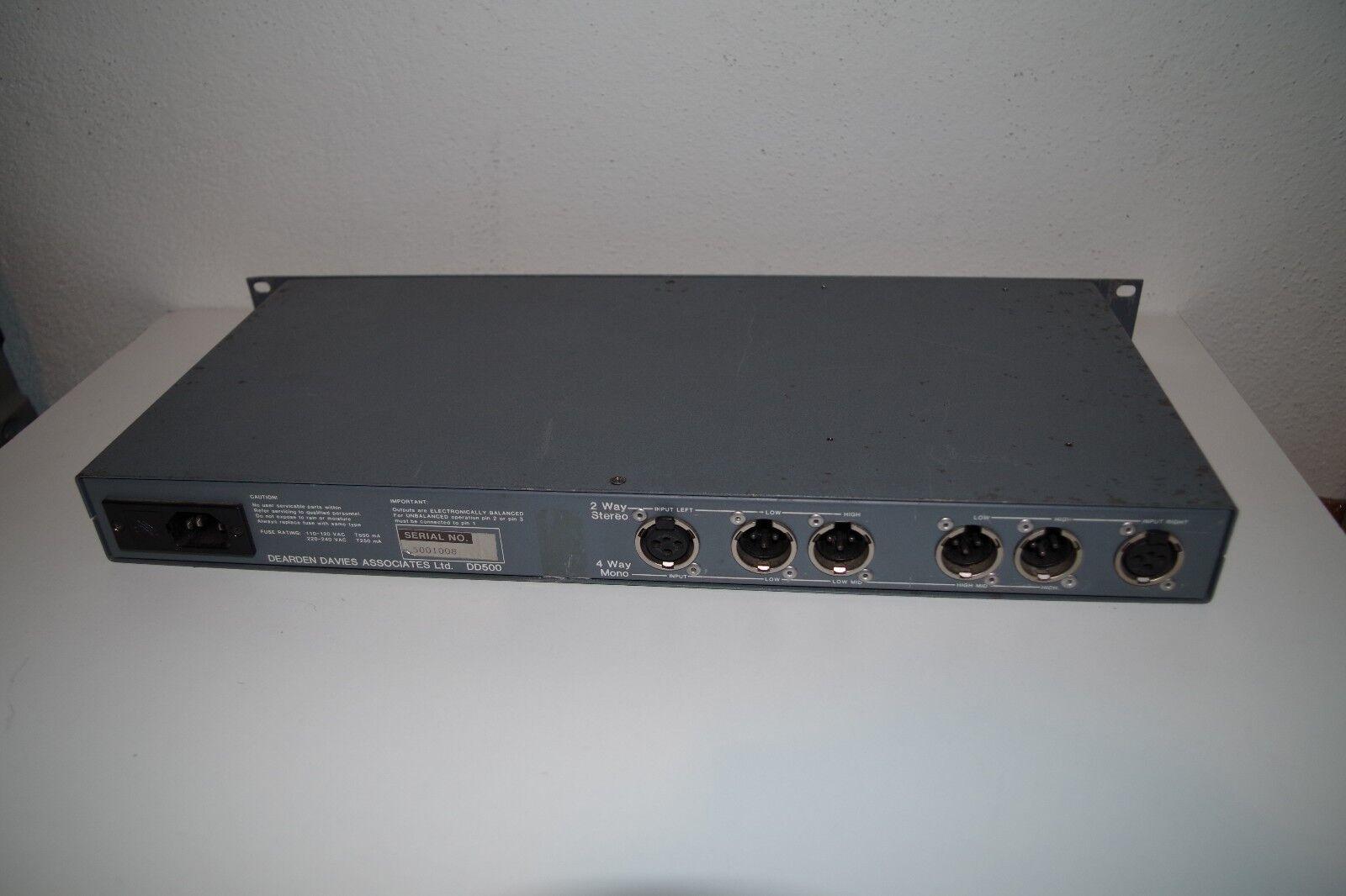 DDA DDA DDA dd500 vintage activamente crojover System 55b37a