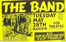 THE BAND 1995 DENVER CONCERT TOUR POSTER -Levon Helm, Rick Danko, Garth Hudson