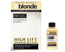 DUO Jerome Russell Bblonde High Lift POWDER Bleach + Cream Peroxide 40v12%
