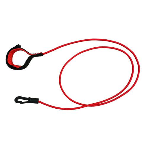 "40 /""elastische Kajak Kanu Paddel Leine Bungee Rope Angelrutenhalter Lanyard"