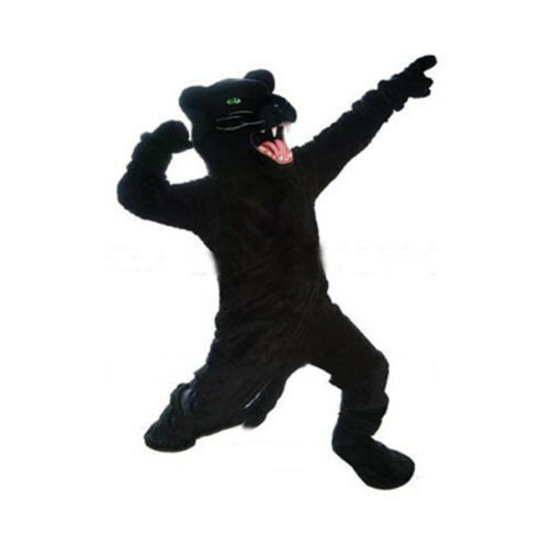 Wild Black Panther Mascot Costume Anime Cosplay Carnival Clothing Fancy Dress us