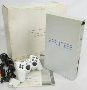 PS2-PEARL-WHITE-Console-System-Boxed-SCPH-50000-FJ1022297-Tested-Playstation2