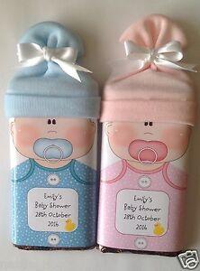 Personalizado Baby Shower Bautizo Envoltura de Barra de chocolate se ajusta Galaxy único  </span>