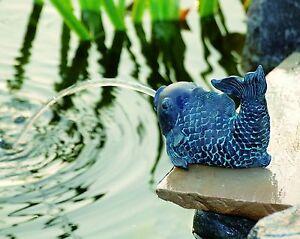 Gargouille Poison Figure d\'étang étang Figurine de Jardin Fontaine ...