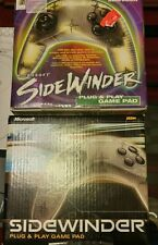 Sidewinder plug and play game pad