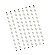 Burry Life Science Stick 12 Length Glass Stir Rod With Both Ends Round 8pcspk