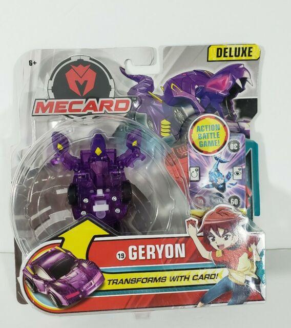 Mecard Geryon  Deluxe Mecardimal Figure Purple Mattel GBP79