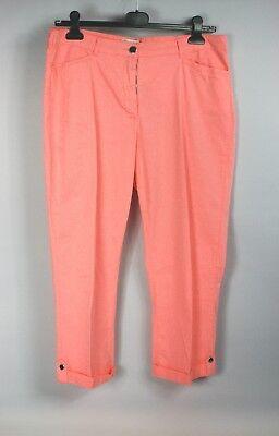 3/4 Pantaloni Rosa Con Busta Paola Tg 44 Cotone/elastan-than It-it Mostra Il Titolo Originale Né Troppo Duro Né Troppo Morbido