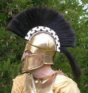 Medieval Wearable Greek Corinthian Helmet Knight Armor Steel Helmet