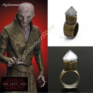 Star Wars Supreme Leader Snoke Snoke S Ring Glyphs
