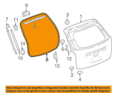 GM OEM Liftgate-Lift Cylinder 84183515