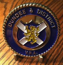 "2.75"" Dundee & District Youth Football Association United Kingdom Challenge Coin"