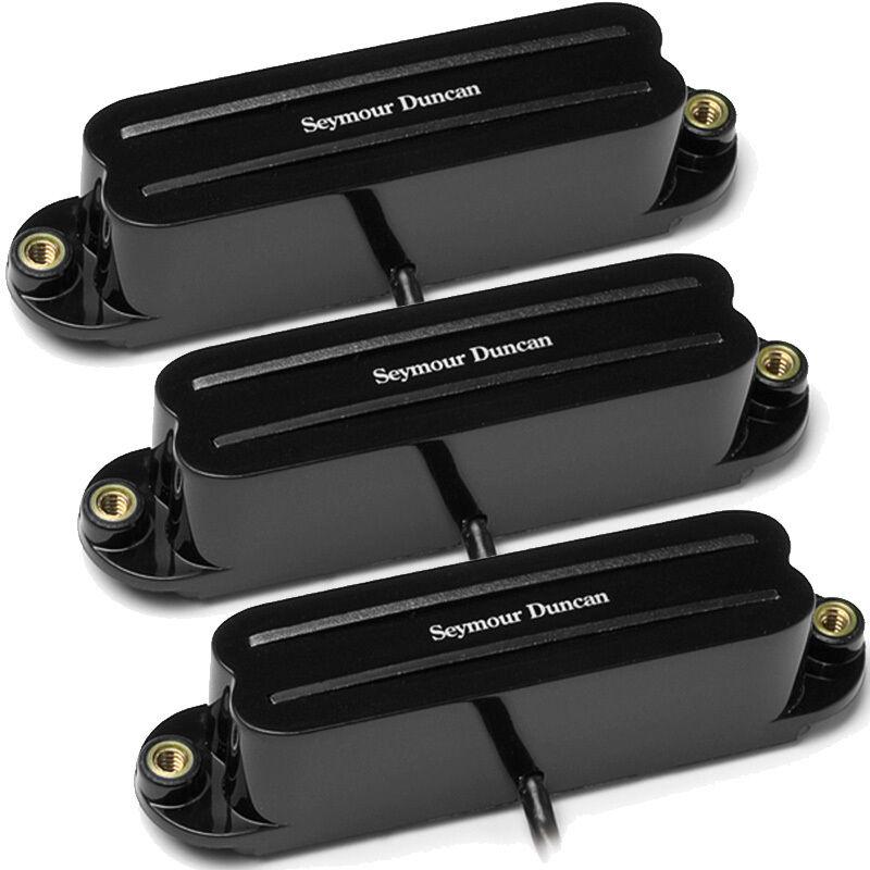 Seymour Duncan SCR-1 Cool SHR-1 Hot Rails Set - schwarz 2x SCR-1n, 1x SHR-1b NEW