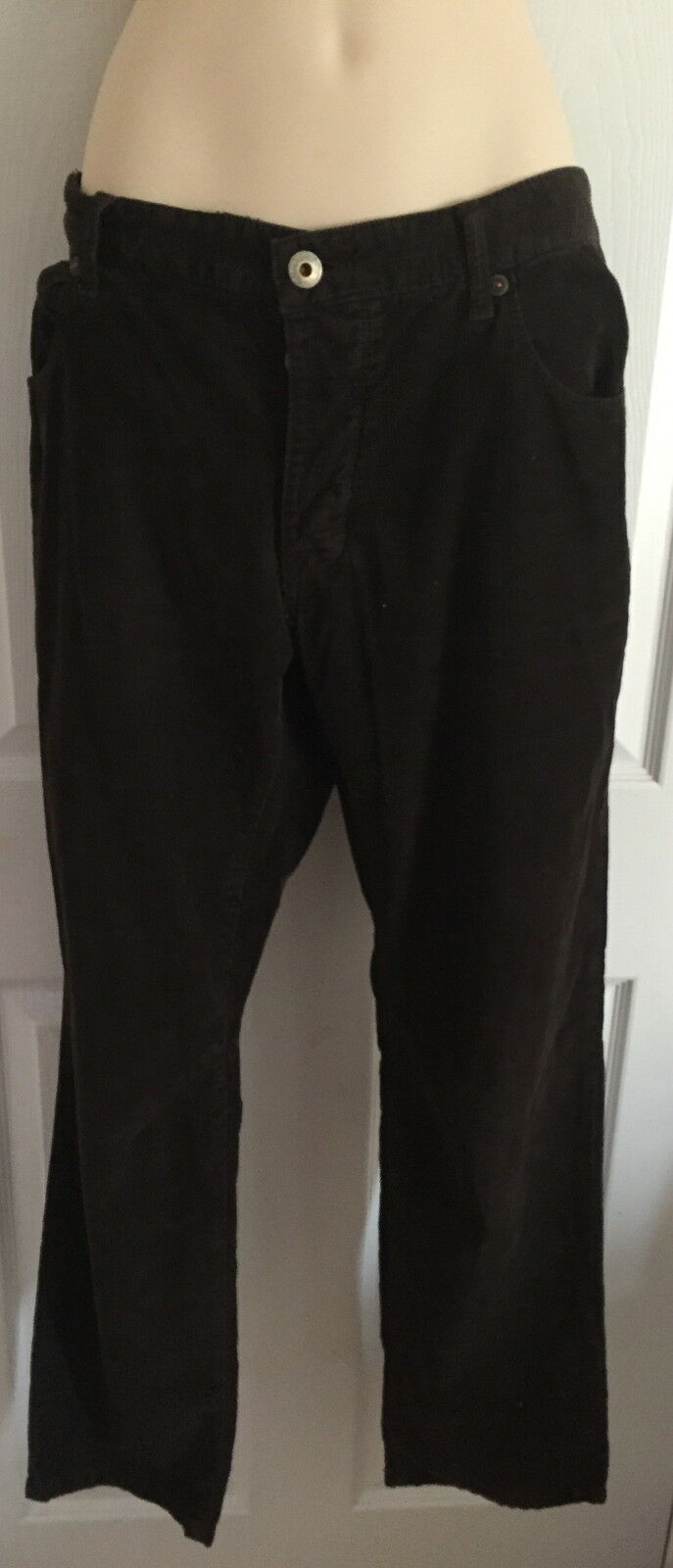 BNWT NEXT Mens CORD TROUSERS STRAIGHT LEG Size 34S Corduroy