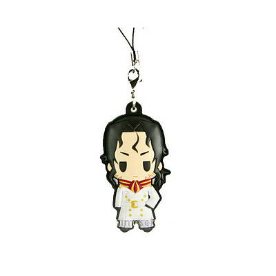 Fullmetal Alchemist Havoc Rubber Cell Phone Strap Licensed NEW