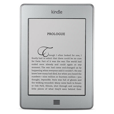 Amazon Kindle Touch 4GB, Wi-Fi, 6in - Silver Very Good Condition