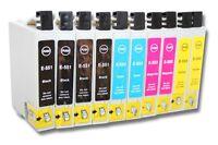 10x Cartouche Encre D'imprimante Compatible Pour Epson Dx3800 Dx3850 3850