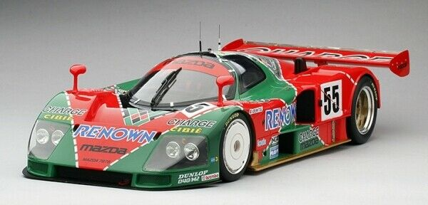 Mazda 787B  55 Winner 24H Le Mans 1991 True Scale Miniatures 1 12 TSM151201 Mode