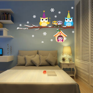 Wall-Stickers-Home-Decor-Removable-Children-Kids-Decal-Nursery-Decor-Christmas