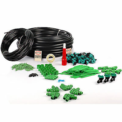 DRIP IRRIGATION GARDENING PLANT WATERING GARDEN IRRIGATION 150 PLANTS DIY