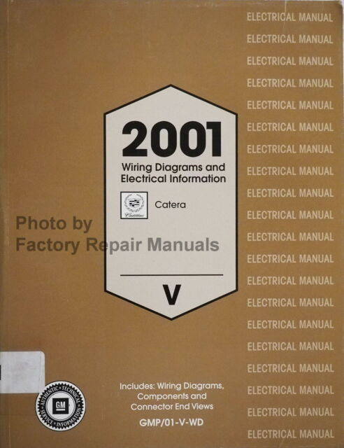2001 Cadillac Catera Wiring Diagrams And Electrical