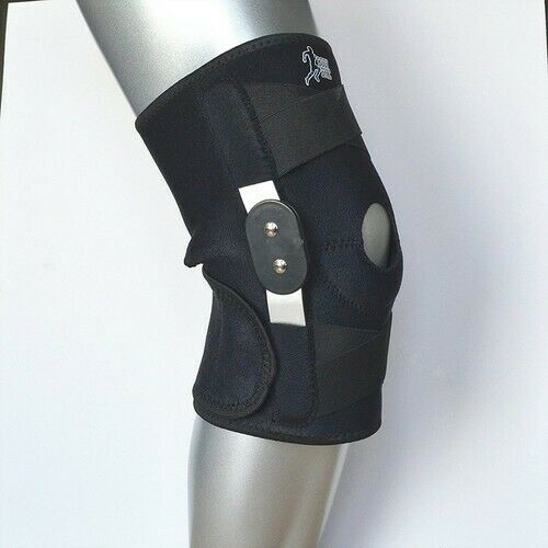 Body Sync Knee Hinged Support Brace Guard Stabilizer Strap Open Patella