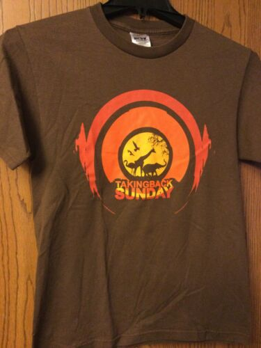 Taking Back Sunday - Brown Shirt.  S/ch/p