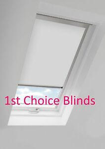 WHITE-Thermal-MK06-Blackout-Roof-Roller-Blind-for-Velux-skylight-windows