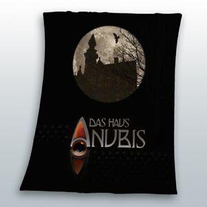 Haus-Anubis-Auge-Fleecedecke-schwarz-130-x-160-cm