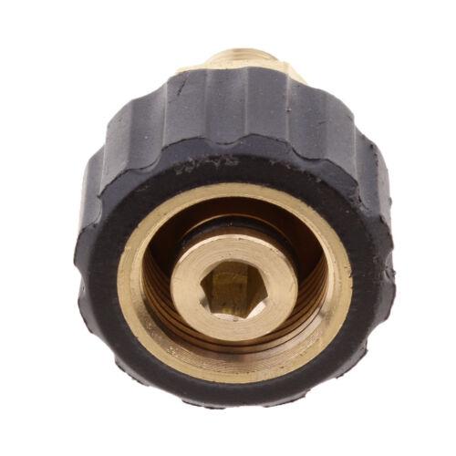 1//4 maschio a presa 14 mm M22x1.5 Donna Lavare JET Adattatore idropulitrice