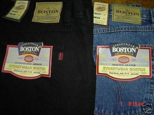 NEW TOUGH  BOSTON STRONG WORK CASUAL MENS  JEANS  40  INCH WAIST FULL FIT NEW